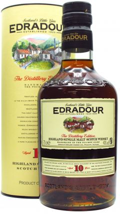 Edradour - Distillery Edition Single Malt 10 year old Whisky