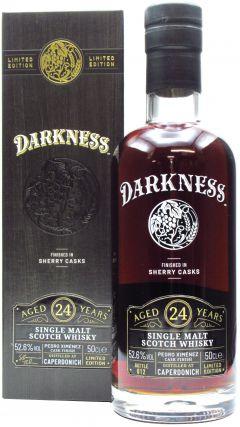 Caperdonich (silent) - Darkness - Pedro Ximenez Cask Finish - 1997 24 year old Whisky