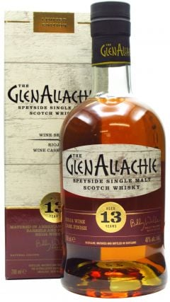 GlenAllachie - Wine Series - Rioja Finish 13 year old Whisky