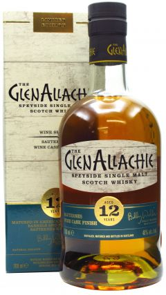GlenAllachie - Wine Series - Sauternes Finish 12 year old Whisky