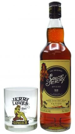 Sailor Jerry - With Branded Tumbler - Spiced Rum