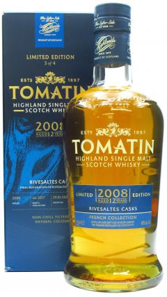 Tomatin - French Collection - Rivesaltes Cask - 2008 12 year old Whisky