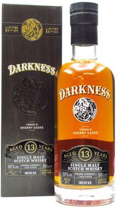Inchfad - Darkness - Pedro Ximenez Cask Finish - 2008 13 year old Whisky