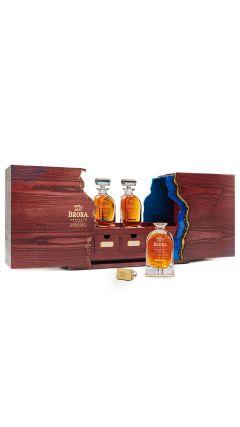Brora (silent) - Triptych Single Malt Scotch - 3 x 50cl Whisky