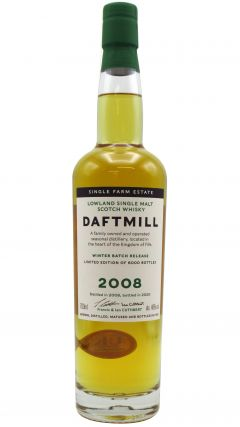 Daftmill - Winter Batch Release 2020 - 2008 12 year old Whisky