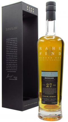 Macallan - Gleann Mor Rare Find Single Cask 27 year old Whisky