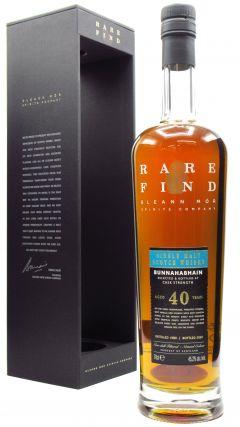 Bunnahabhain - Gleann Mor Rare Find Single Cask 40 year old Whisky