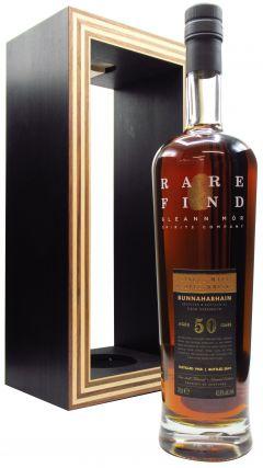 Bunnahabhain - Gleann Mor Rare Find Single Cask - 1968 50 year old Whisky