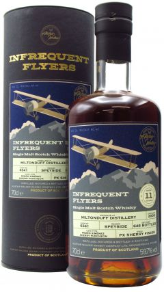 Miltonduff - Infrequent Flyers Single Cask #6341 - 2009 11 year old Whisky