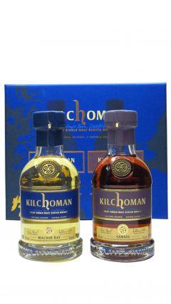 Kilchoman - Machir Bay & Sanaig 20cl Twin Pack Whisky