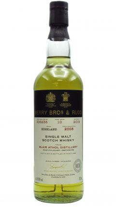 Blair Athol - Berry Bros & Rudd Single Cask #305236 - 2008 10 year old Whisky