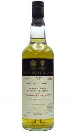 Tullibardine - Berry Bros & Rudd Single Cask #940 - 1993 26 year old Whisky