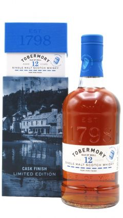 Tobermory - Port Cask Finish Single Malt  - 2007 12 year old Whisky