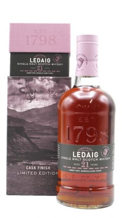 Ledaig - Limited Release - Marsala Finish Single Malt - 1998 21 year old Whisky