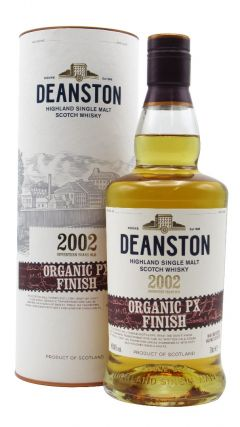 Deanston - Organic Pedro Ximenez Finish Single Malt - 2002 17 year old Whisky