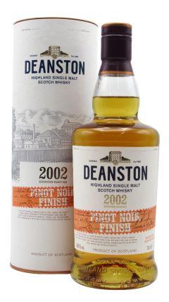 Deanston - Pinot Noir Cask Finish Single Malt - 2002 17 year old Whisky