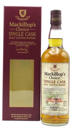 Glenlivet - Mackillop's Choice Single Cask #13626 - 1989 31 year old Whisky