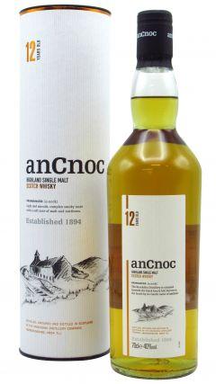 anCnoc - Highland Single Malt 12 year old Whisky