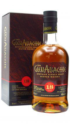GlenAllachie - Speyside Single Malt 18 year old Whisky