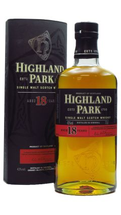 Highland Park - Single Malt (old bottling) 18 year old Whisky