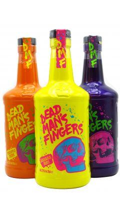 Dead Man's Fingers - 3 x 70cl Bundle - Banana, Hemp & Pineapple Rum