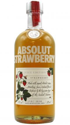 Absolut - Strawberry - Juice Edition Spirits