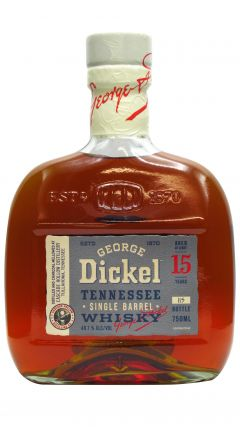 George Dickel - Tennessee Single Barrel 15 year old Whisky
