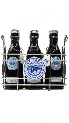 Five Farms - Irish Cream Liqueur Gift Set 3 x 70cl Liqueur