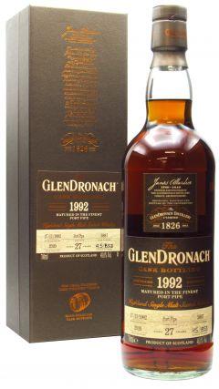 GlenDronach - Single Cask #5897 (Batch 18) 27 year old Whisky