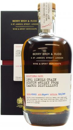Cambus (silent) - Single Cask #103023 - 1991 29 year old Whisky