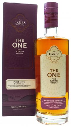 The Lakes - The One Port Cask Finished Whisky