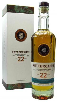 Fettercairn - Highland Single Malt 22 year old Whisky