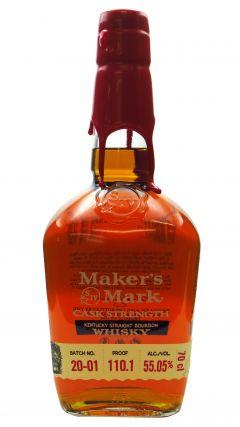 Maker's Mark - Cask Strength Batch 20-01  Whiskey