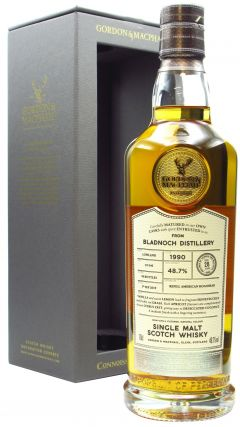 Bladnoch - Connoisseurs Choice Single Cask - 1990 28 year old Whisky
