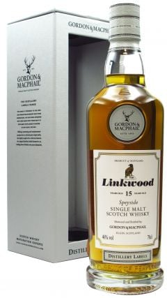 Linkwood - Distillery Labels Single Malt 15 year old Whisky