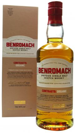 Benromach - Contrasts - Organic Single Malt - 2012 8 year old Whisky