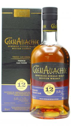 GlenAllachie - Virgin Oak Series - French Oak Wood Finish 12 year old Whisky
