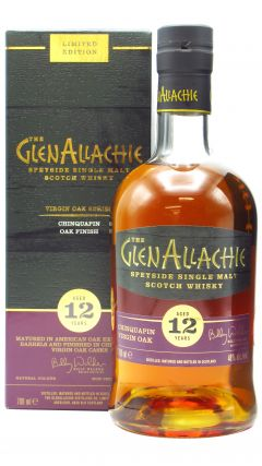 GlenAllachie - Chinquapin Wood Finish 12 year old Whisky