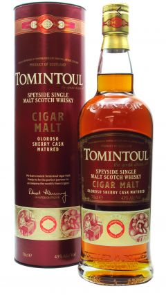 Tomintoul - Cigar Malt - Oloroso Sherry Cask Matured Whisky