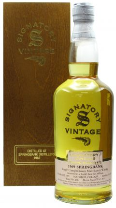 Springbank - Signatory Vintage Rare Reserve - 1969 34 year old Whisky