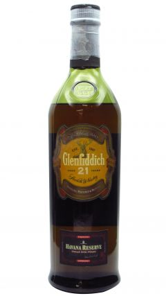 Glenfiddich - Havana Reserve (unboxed & low fill level) 21 year old Whisky