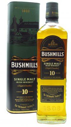 Bushmills - Irish Single Malt 10 year old Whiskey