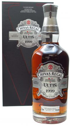 Chivas Regal - Manchester United Ultis Victory Edition 1999 20 year old Whisky