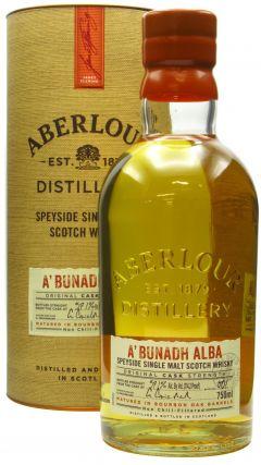 Aberlour - A'Bunadh Alba Cask Strength Batch 001 Whisky