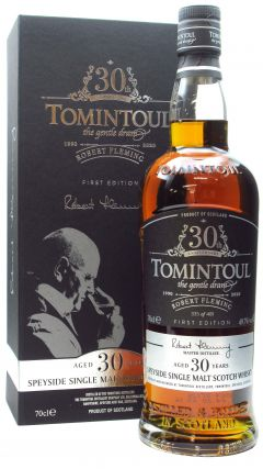 Tomintoul - Robert Flemming 1st Edition 30 year old Whisky