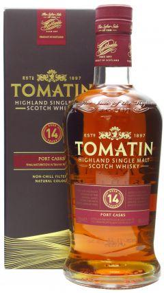 Tomatin - Tawny Port Finish Highland Single Malt 14 year old Whisky