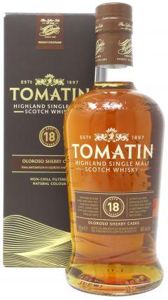 Tomatin - Sherry Cask Highland Single Malt  18 year old Whisky