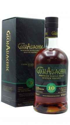 GlenAllachie - Cask Strength Batch #4 10 year old Whisky