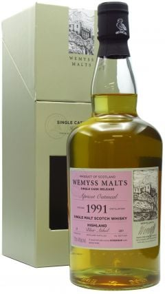 Blair Athol - Apricot Oatmeal Single Cask - 1991 27 year old Whisky
