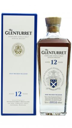Glenturret - Highland Single Malt Scotch  12 year old Whisky